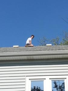 Dan, the acrobat.