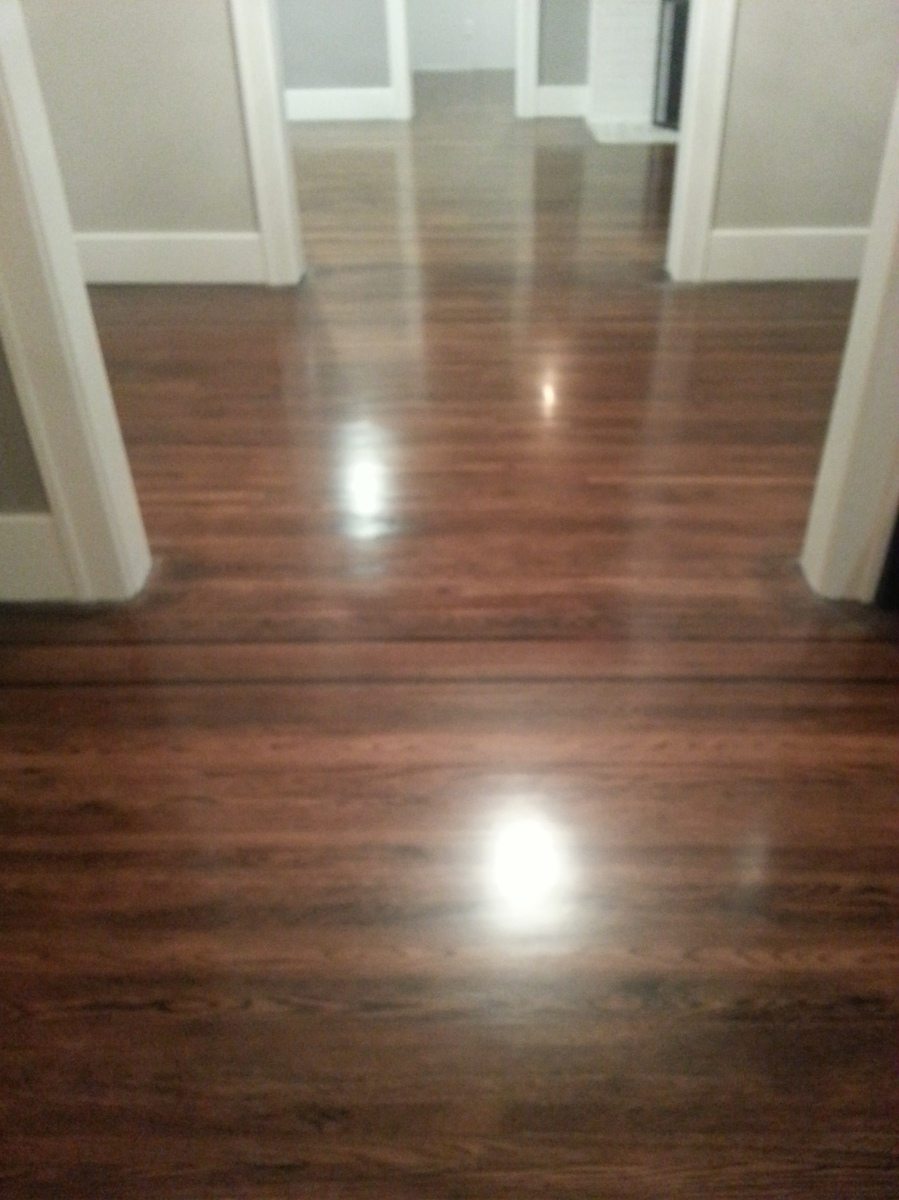 Refinishing our floors for Resurfacing wood floors