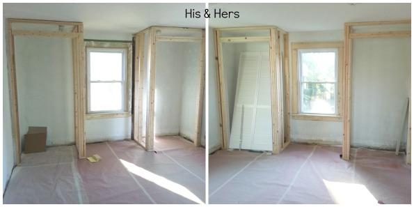 closet frames