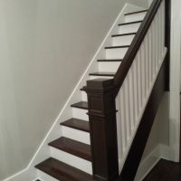 Refinishing our staircase