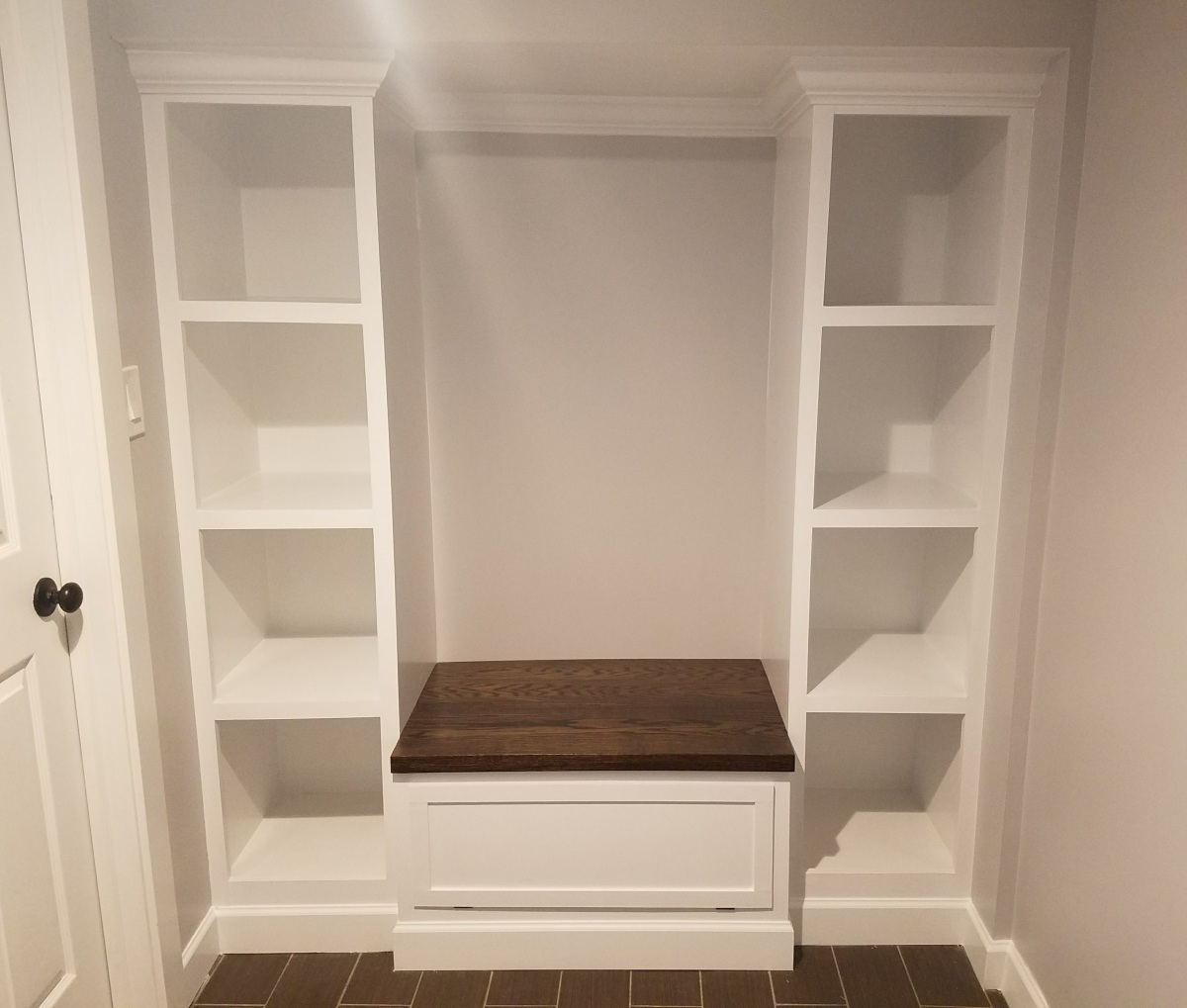 Building Mudroom Storage