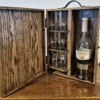 DIY Whiskey Caddy