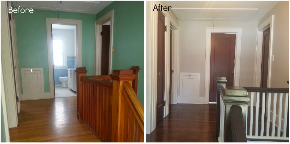 Refinishing Interior Doors And With The Original Doors Still Intact Glass  Door Knobs And All A