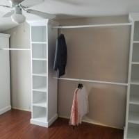 DIY Walk-In Closet